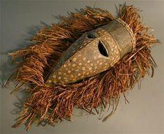 African Bird Mask