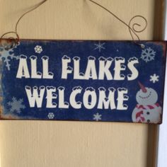 Hmmm - I think this is cute - especially for those of us in the south who welcome snow.