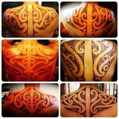 Various Maori Tamoko tatts Tattoo Maori, Maori Art, I Tattoo, Amazing Tattoos, Cool Tattoos, Tatoos, Maori Patterns, Polynesian Tattoo Designs, Hybrid Design