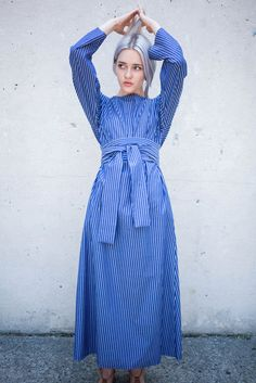 Creatures of Comfort Waldo Dress in Stripe | Oroboro Store