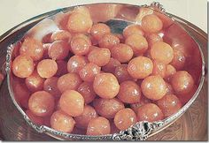 Lebanese sweets, Dough Balls in Syrup, Awwamat