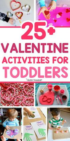 Easy Valentine's Day Activities for Toddlers #valentinesdayactivities #toddleractivities #kidsactivities