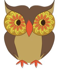 An Owl a Day Keeps Burnout Away. Class Art Projects, Owl Applique, Owl Illustration, Shrink Art, Paper Owls, Owl Cartoon, Owl Pictures, Beautiful Owl, Owl Crafts
