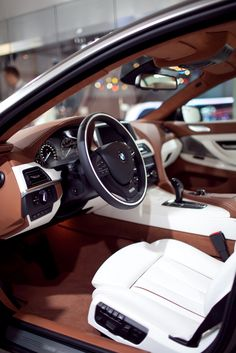 I've never liked a white interior, but I fell in love with this one.