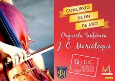 Concierto de Fin de Año Orquesta Sinfónica Colegio José Carlos Mariátegui