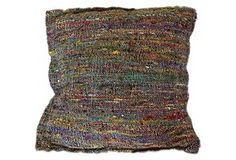 Love the subtle color blend in this pillow~