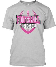 Mens Football Linemom Classic Tee Deep Royal - Boymom Shirt - Ideas of Boymom Shirt - Football Linemom Light Steel T-Shirt Front Lineman Shirts, Football Mom Shirts, Bulldogs Football, Football Gear, Team Shirts, Sports Shirts, Football Mom Quotes, Football Slogans, Football Stuff