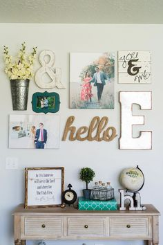 Sep 2017 - Tips and tricks for coming up with the best living room gallery wall ideas. I will also share where I found the best items for my gallery wall. Room Wall Decor, Diy Wall Decor, Living Room Decor, Wall Decorations, Living Room Wall Ideas, Beautiful Living Rooms, Living Room Modern, Small Living, Studio Loft