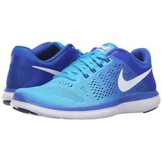 Canada Women Nike Flex 2014 Run White University Blue