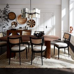 Dining Room Design, Dining Room Table, Kitchen Chairs, Dining Room Rugs, Eclectic Dining Chairs, Narrow Dining Tables, 8 Seater Dining Table, Simple Dining Table, Dining Nook