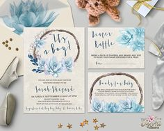 Printable Floral Boho Baby Shower Invitation set that will be envied and adored the minute it arrives! Carefully designed to take a part in making your Baby Shower day even more remarkable and impressive! 🌟You have only one chance to make first impression. Get this design to ensure the