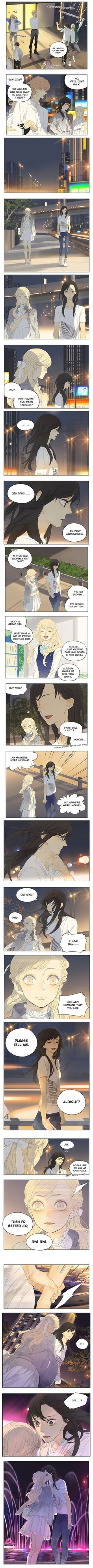 Tamen De Gushi 145 ♥ - Ahhhh!!! It finally happened!!! They kissed!!! #TheirStory