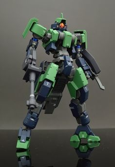 GUNDAM GUY: HG 1/144 Geirail - Painted Build