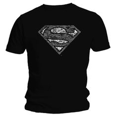 Superman Distressed T-Shirt Superman Man Of Steel, Supergirl, Bling, Mens Tops, T Shirt, Clothes, Fashion, Supreme T Shirt, Outfits