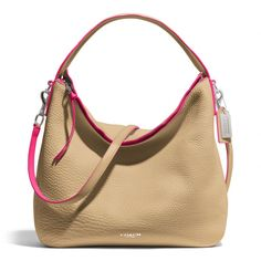 The Bleecker Sullivan Hobo In Edgepaint Leather from Coach