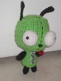 Gir from Invader Zim. My nephew Davy is obsessed.