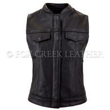 Zippered Rebel Vest