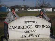 Cambridge Springs, PA was the halfway point between Chicago and New York. It was a very busy time. This photo is courtesy of Mark Van Matre.