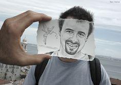 Pencil vs Camera an Astonishing Series by Ben Heine_28 @ GenCept
