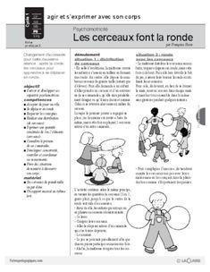 Risultati immagini per maternelle activités cerceaux