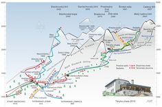 Lokalita a prístup – Téryho chata 015 m. Map, Location Map, Maps