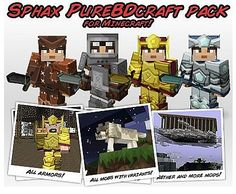 Sphax PureBDCraft Texture Pack for Minecraft 1.5.2/1.5.1/1.4.7