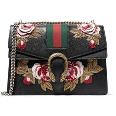 2671e15196a Gucci Dionysus medium appliquéd textured-leather shoulder bag ( 3