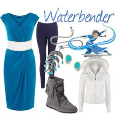 Waterbender from Avatar the Last Airbender and Legend of Korra