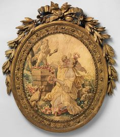 The Worship of Cupid ca. 1775–90 After Jean Baptiste Huet I (French) Probably woven at Aubusson Manufacture (via The Metropolitan Museum of Art)