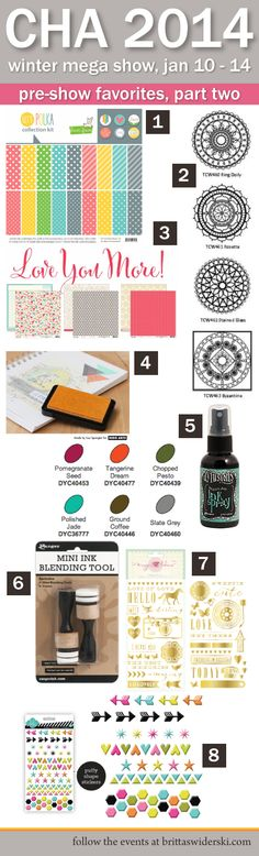 Pre-CHA 2014 show favorite new products, part two [by Britta Swiderski]