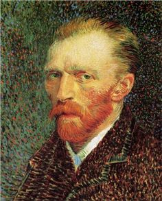 Self-Portrait - Vincent van Gogh This is my favorite Van Gogh self portrait. Every time I look at it, I see a different emotion or expression; sometimes sadness, sometimes doubt, sometimes anger, sometimes pain, sometimes love, and many more. I can feel his spirit in this painting like no others I have ever seen.