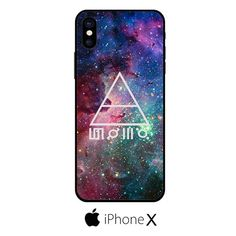 30 Seconds To Mars Galaxy Space IPHONE X