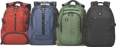 Victorinox VX Sport's daypacks. The perfect pack for the Urban Traveller | via: The Great Manifest