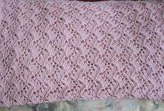 Free Pattern: Traveling Vine Baby Blanket Nursing Coverup by Cinzia New York