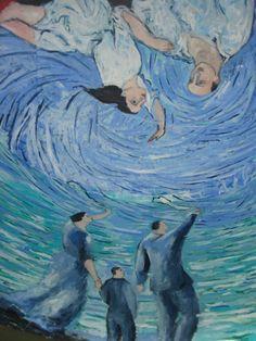Sandro Chia - Viterbi Museum murals, Tutor Hall, University of Southern California.  http://www.artexperiencenyc.com/social_login