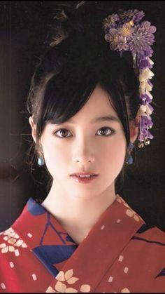 着物限定。/Only Girls In Kimono: Photo Beautiful Japanese Girl, Japanese Beauty, Beautiful Asian Girls, Asian Beauty, Geisha, Cute Asian Girls, Cute Girls, Prity Girl, Japan Girl