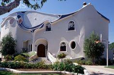 Gaudi House design, Beverly Hills, by Greta