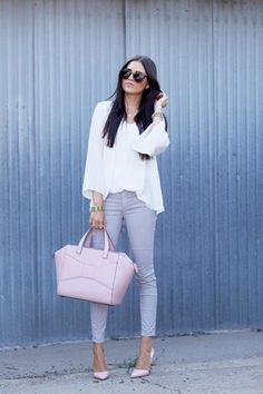Spring Denim Trends: Pastels