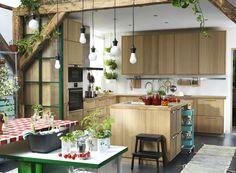 L'îlot central de cuisine à la mode IKEA