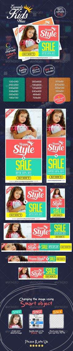 flat color sale web banner ads web banners flats and banners