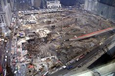March 15th 2002 - Excavated World Trade Center foundations 6 months after the cowardly terrorist attacks on September 11th 2001