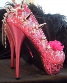 pink glitter high heels | pink glitter high heels (: with Victoria's Secret - High Heels | auf ...