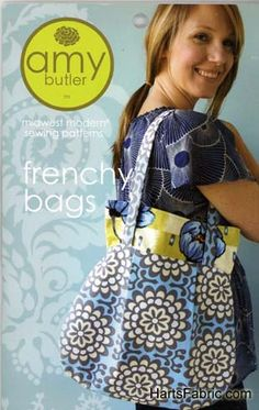 Frenchy Bags Pattern by Amy Butler