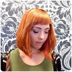 Andrea transformed Tracy's blonde to a soft copper and added some pink accent pieces. We love this bold & bright look for spring! Pink Accents, Accent Pieces, Salons, Copper, Bright, Long Hair Styles, Spring, Instagram Posts, Beauty