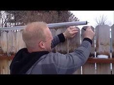 Roll Guard installed @ Wood Dog Ear fence