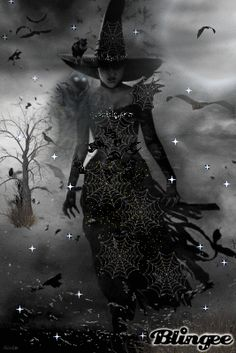 Witch Wallpaper, Halloween Wallpaper, Dark Witch, White Witch, Live Moving Wallpaper, Beautiful Witch, Halloween Gif, Fantasy Art Women, Dark Pictures
