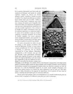 Baptistère St-Jean: Fig 26: stèle du pignon de l'absidiole.- 2) BAPTISTERE ST-JEAN à POITIERS:.. dessous duquel se voit une aire de béton gallo-romain (0,06m) rougie par le feu, sans doute le lugubre souvenir de l'INVASION DE 276. A l'extérieur on constate un large bandeau appareillé où les moellons taillés alternent avec les arases (FIG 20). Cette zone de maçonnerie est en léger retrait sur le mur inférieur. Les éléments sont cubiques et irréguliers au mur E soignés et allongés sous les…
