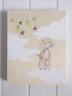 Sweet dreams sheep by muralsbyshauna on Etsy https://www.etsy.com/listing/267823579/sweet-dreams-sheep