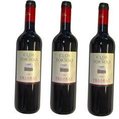 Vin jeune rouge Priorat Clos Torsols 75Cl - LOT DE 3