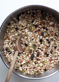 How to Make Muesli - My favorite simple breakfast! Cool, hearty, and nourishing - with this easy formula, you can make your own muesli exactly how you like it.